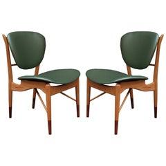 Pair of Finn Juhl for Baker Side Chairs