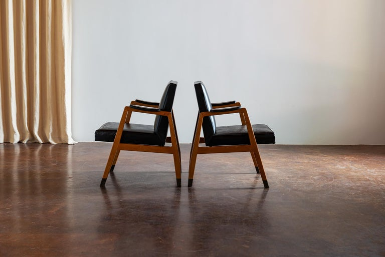 Pair of Finnish Armchairs by Lasse Ollinkari and Arne Ervi, 1940s In Good Condition For Sale In Santa Fe, NM