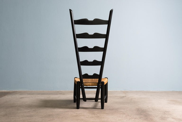 Other Pair of Fireside Chairs by Gio Ponti, circa 1939 For Sale