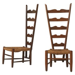 Pair of Fireside Chairs by Gio Ponti