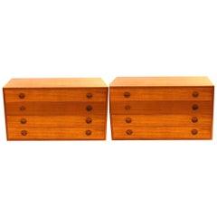 Pair of Floating Dressers/Nightstands by Thygesen & Sørensen for HG Furniture