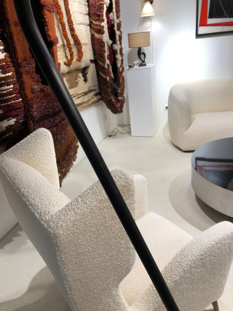 Pair of Floor Lamp by Maison Lunel, 1950 For Sale 7