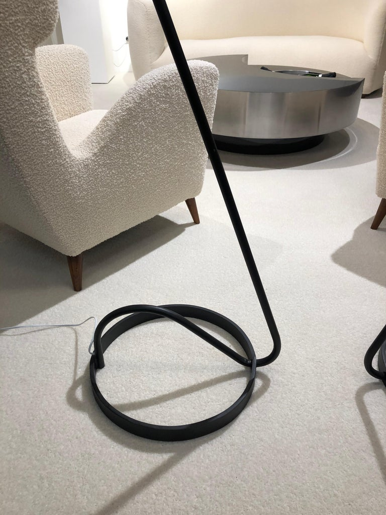Pair of Floor Lamp by Maison Lunel, 1950 In Good Condition For Sale In Saint-Ouen, FR