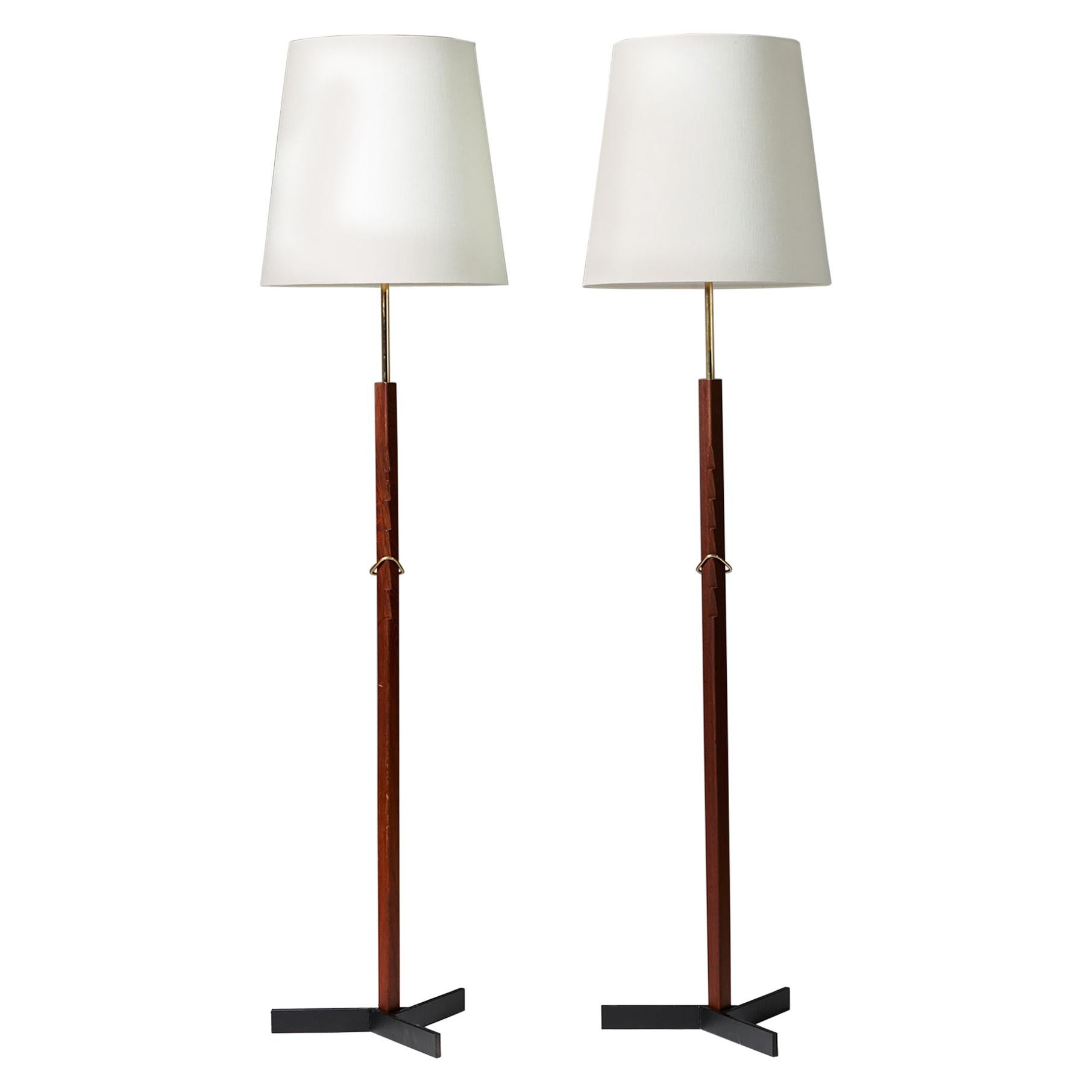 Pair of Floor Lamps, Anonymous, 1960s