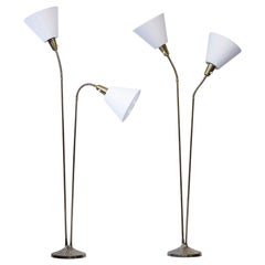 Pair of Floor Lamps by Sonja Katzin, ASEA, Sweden, 1950s