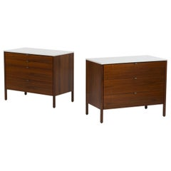 Pair of Florence Knoll Dressers