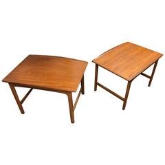 Pair of Folke Ohlsson Midcentury Teak Side Tables