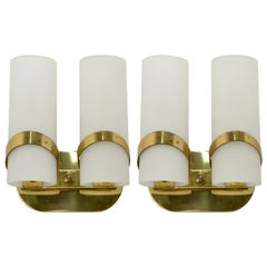 Pair of Fontana Arte Sconces
