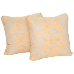 Vintage Pair of  Fortuny Cushions