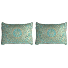 Pair of Fortuny Lumbar Pillows