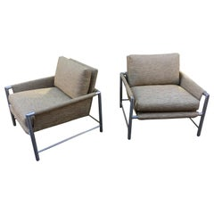 Pair of Founders Aluminum Lounge Chairs