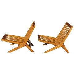 Pair of France & Daverkosen, Orholm Danmark Chairs for John Stuart, Inc.