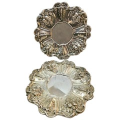 Pair of Francis I Pattern Sterling Silver Trays