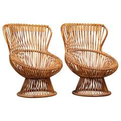 """Pair of Franco Albini """"Margherita"""" chairs"""
