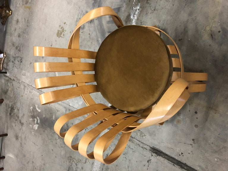 Pair of Frank Gehry for Knoll Cross Check Chairs 4