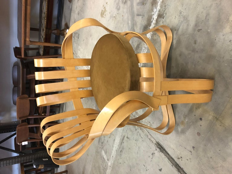 Pair of Frank Gehry for Knoll Cross Check Chairs 6