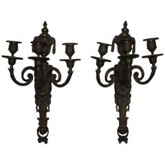 Pair of French 18th Century Sconces