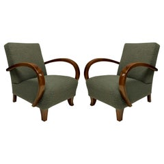Pair of French 1940's Armchairs