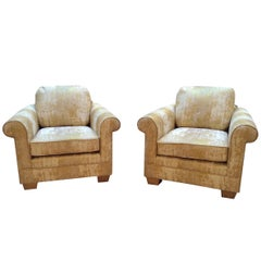 Pair of French, 1940s Armchairs