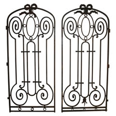 Pair of French 19th Century Iron Gates
