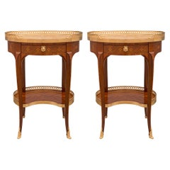 Pair of French 19th Century Louis XV St. Side Tables