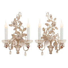Pair of French 19th Century Louis XVI St. Sconces