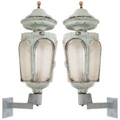 Pair of French 19th Century Louis XVI-Style Wall Lanterns