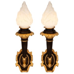 Pair of French 19th Century Neoclassical St. Sconces
