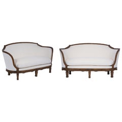 Pair of French 19th Century Settees