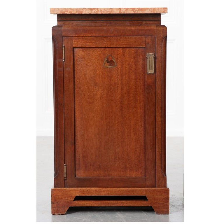 Pair of French 20th Century Art Deco Bedside Cabinets For Sale 3