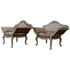 Pair of French Antique Armchairs