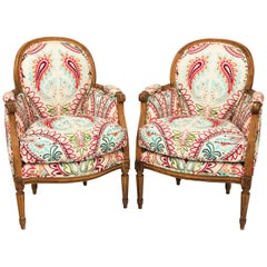Pair of French Armchairs, circa 1900