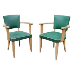 Pair of French Art Deco Armchair