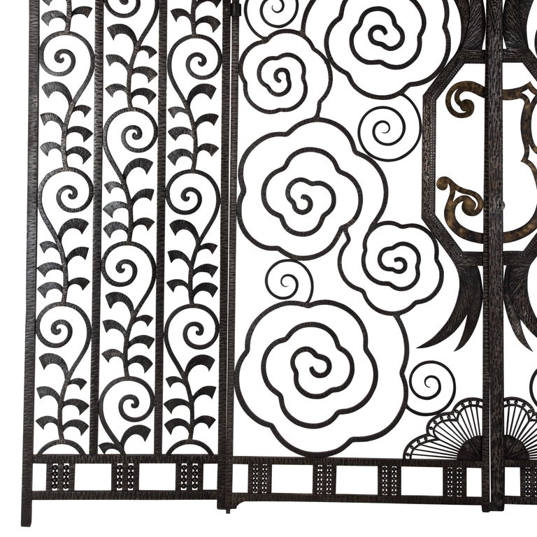 20th Century Pair of French Art Deco Gates For Sale