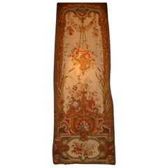 Pair of French Aubusson Tapestry Entre Fenetres 'for Between Windows'