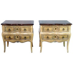 Pair of French Auffray Nightstands