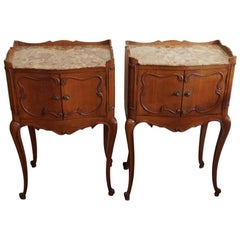 Pair of French Bedside Cabinets, circa 1920