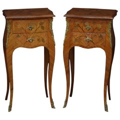 Pair of French Bedside Cabinets in Kingwood