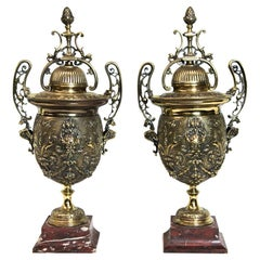 Pair of French Cassolettes