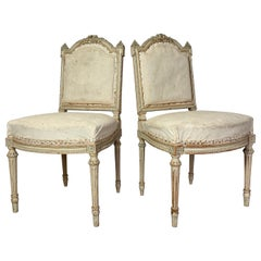 Pair of French Chairs, Late 19th Century