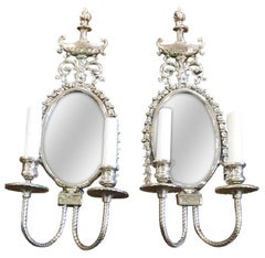 Pair of French Classical Wall Sconces