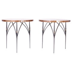 Neoclassical End Tables