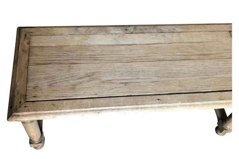 Pair of French Early 20th Century Benches For Sale 8
