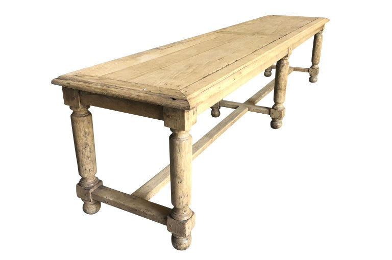 Pair of French Early 20th Century Benches For Sale 2