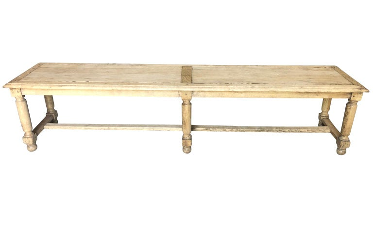 Pair of French Early 20th Century Benches For Sale 3