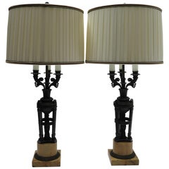 Pair of French Empire Candelabra in the Manner of Pierre-Philippe Thomire