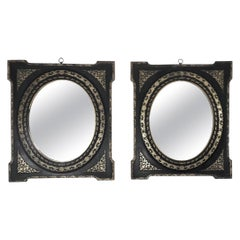 Pair of French Empire Mirrors