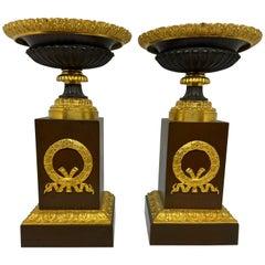 Pair of French Empire Tazza