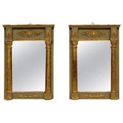 Pair of French Empire Wall Mirrors, circa 1810-1830
