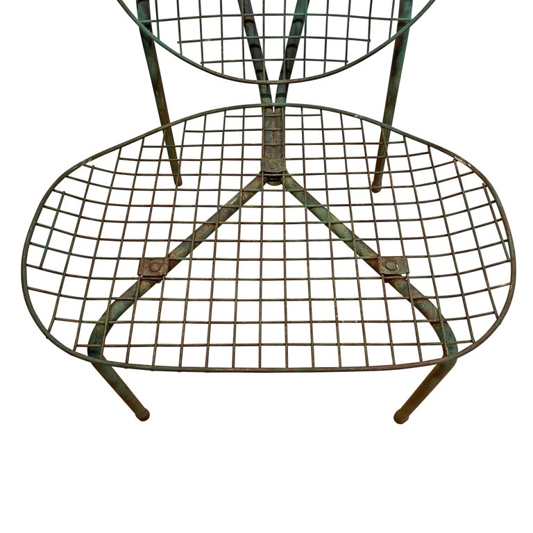 Pair of French Garden Chairs For Sale 4